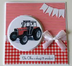 Dla małego traktorzysty