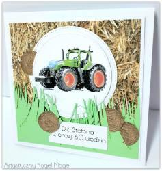 Jedzie traktor