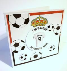 Zaproszenie piłkarskie