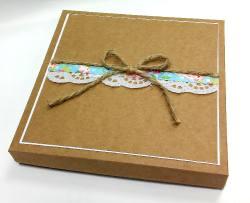 Kartka w pudełko EKO