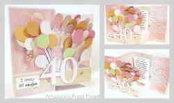 40 Balonów z okazji 40 urodzin