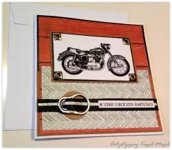 Junak-kartka dla motocyklisty nr 1