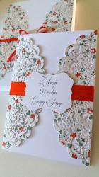 Kartka w pudełku na 50 urodziny
