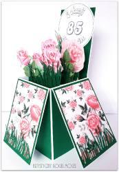 Róże-pudełko w kartce