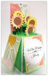 Słoneczniki w pudełku