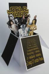 Star Wars - pudełko w kartce