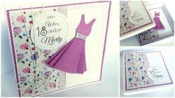 Sukienka w pudełko na 18 urodziny