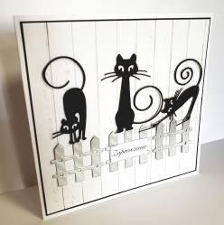 Koty na płocie